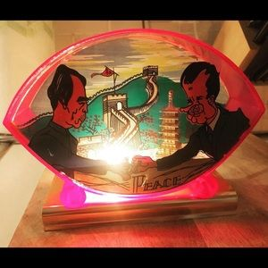 Other - Genuine period nightlight Nixon and Mao - Peace